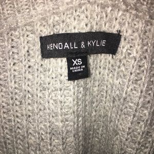 Kendall x Kylie knit sweater